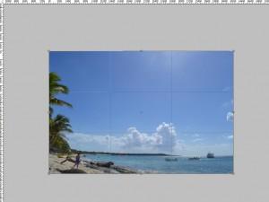 Как создать рамку в фотошоп