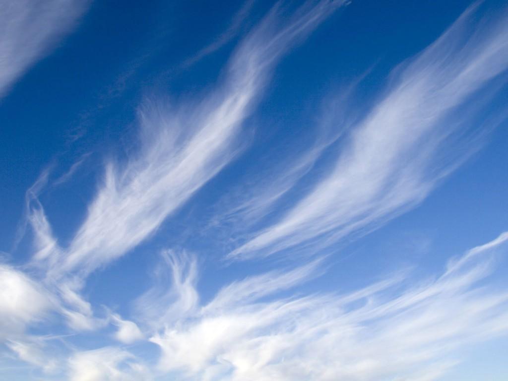 Портрет из облаков