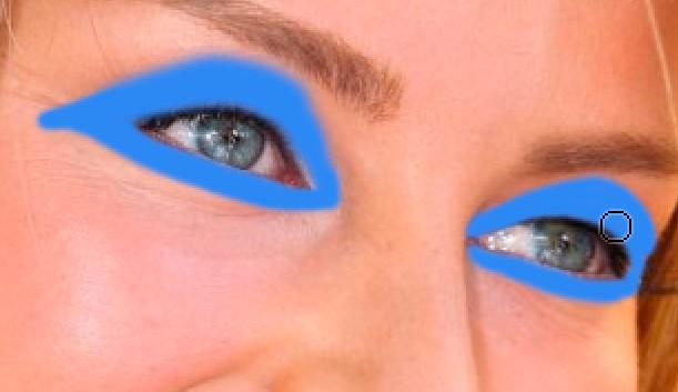 макияж в фотошопе