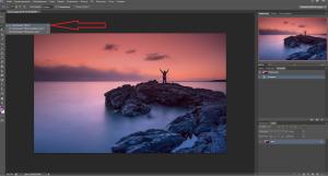 удаление лишних предметов в фотошоп
