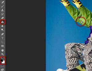 эффект пикселей в фотошопе